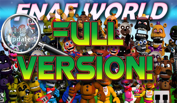 FNaF World Free Full Version