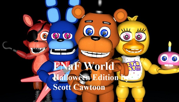 FNaF World Halloween Edition by Scott Cawtoon