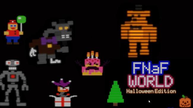 Fnaf World Halloween Edition (Fan-Game)