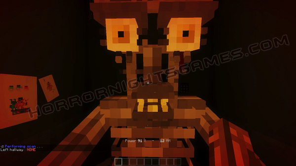 Five Nights In The Dark Map 1.13.2 for Minecraft