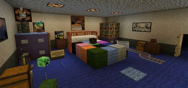 Five Nights at Freddy's 4 Minecraft Map